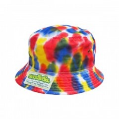 "seedleSs ""SD NEWHATTAN TIEDYE BUCKET HAT"" (Rainbow"