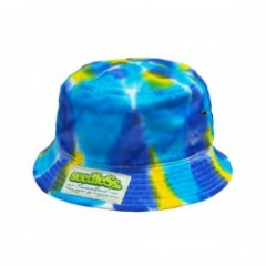 "seedleSs ""SD NEWHATTAN TIEDYE BUCKET HAT"" (Blue)"