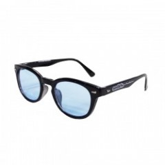 "seedleSs サングラス ""SD BASIC SUNGLASSES"" (Black/Blue)"
