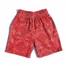 "COOKMAN ショーツ ""CHEF SHORT PANTS"" (Paisley / Red)"