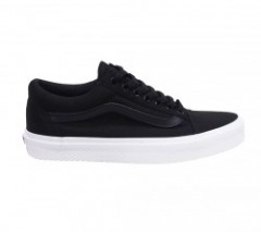 "VANS ""OLD SKOOL"" (WAFFLE WALL) Black/True White"