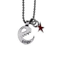 "range ネックレス ""E-STAR NECKLACE"" (Dull Silver)"