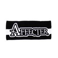 "AFFECTER タオル ""AFF TOWEL"" (Black)"