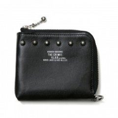 "CRIMIE 財布 ""JACK STUDS MULTI WALLET"" (Black)"