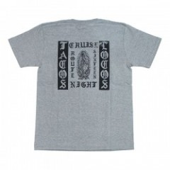 "RADIALL Tシャツ ""TACOS LOCOS CREW NECK TEE"" (Heather Gray)"