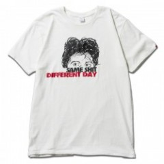 "★30%OFF★ FUCT Tシャツ ""SSDD DOG DAY TEE"" (White)"