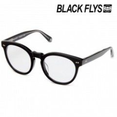 "BLACKFLYS 老眼鏡 ""FLY CARTER (Reading)"" Black/Clear"