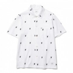 "★40%OFF★CRIMIE ""CRIMIE BUNNY CUT SEW SHIRT""(White)"