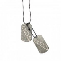 "seedleSs ネックレス ""SDS DOG TAG NECKLACE"""