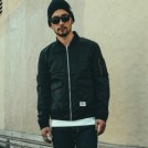 "CRIMIE ジャケット ""MA1 FLIGHT JACKET"" (Black)"