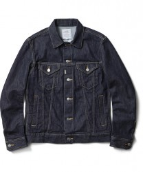 "CRIMIE デニムジャケット ""BORN FREE STRETCH SELVEDGE DENIM JACKET"" (Indigo)"