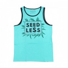 "★30%OFF★ seedleSs タンクトップ ""FOLIAGE TANK TOP"" (Green)"