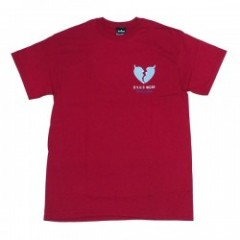 "Deviluse Tシャツ ""HEARTACHES TEE"" (Red)"