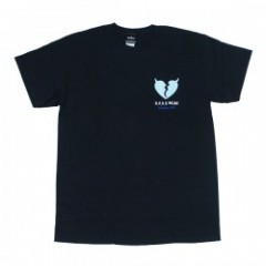 "Deviluse Tシャツ ""HEARTACHES TEE"" (Black)"