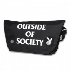 "FUCT ""SSDD OUTSIDE MESSENGER BAG"" (Black/White)"