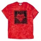 "★30%OFF★ MINOS Tシャツ ""PSYCHEDELIC MINOS CRYSTAL TEE"" (Red)"