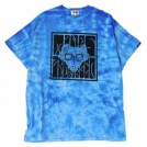 "★30%OFF★ MINOS Tシャツ ""PSYCHEDELIC MINOS CRYSTAL TEE"" (Blue)"