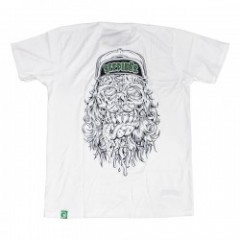 "seedleSs Tシャツ ""FACEMELT 2.0 TEE"" (White)"