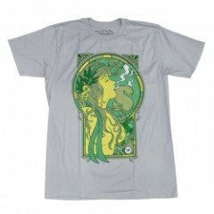 "★30%OFF★ seedleSs Tシャツ ""GREEN GIRL10 TEE"""