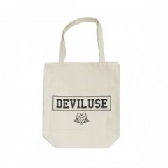 "Deviluse トートバッグ ""SATANISM TOTEBAG"" (Natural)"