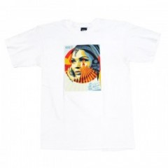 "OBEY Tシャツ ""OBEY TARGET EXCEPTIONS TEE"" (White)"