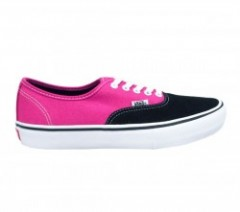 "VANS ""AUTHENTIC PRO"" (Black/Magenta)"