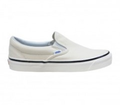 "VANS ""CLASSIC SLIP-ON 98 DX"" (ANAHEIM FACTORY) OG White/White"