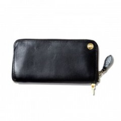 "ANIMALIA 財布 ""CHISHOLM TRAIL Wallet#002"" (Black)"