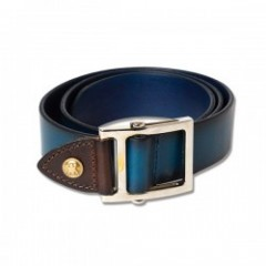 "ANIMALIA ベルト ""CHISHOLM TRAIL Belt 17AW"" (Navy)"