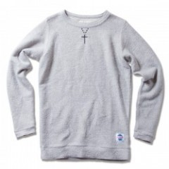 "ANIMALIA セーター ""RUSTIX SWEATER#001"" (Gray)"