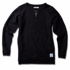 "ANIMALIA セーター ""RUSTIX SWEATER#001"" (Black)"