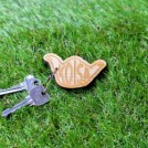"MINOS キーホルダー ""KOISA WOOD KEY HOLDER"" (Wood)"