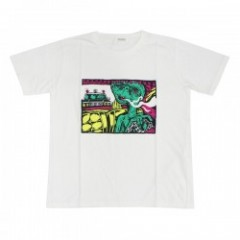 "★30%OFF★ RADIALL Tシャツ ""POLICE&THIEVES TEE"" (White)"