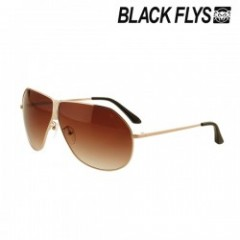 "★SALE★ BLACKFLYS ""FLY DRIP"" S.GOLD/AMB GOLD MIRROR"