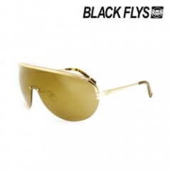 "★SALE★BLACKFLYS ""ILLUMINATI FLY"" S.GOLD/AMB GOLD M"