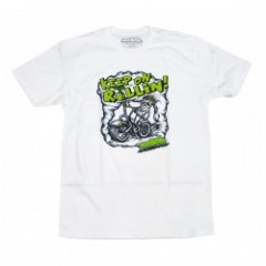"seedleSs Tシャツ ""KEEP ROLLIN TEE"" (White)"