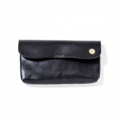 "ANIMALIA 財布 ""CHISHOLM TRAIL WALLET #001"" (Black)"