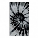 "LEUS タオル ""SURF TOWEL TIE DYE - CONNER COFFIN"" (Black)"