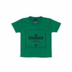 "Deviluse キッズTシャツ ""KIDS ORIGIN TEE"" (Green)"