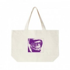 "OBEY トートバッグ ""SCREAMER TOTE BAG"" (Natural)"