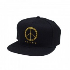 "Deviluse キャップ ""PEACE SNAPBACK CAP"" (Black)"