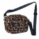 "Deviluse ショルダーバッグ ""LEOPARD SHOULDER BAG"" (Brown)"