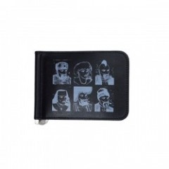 "RADIALL 財布 ""PASS MONEY CLIP BILLFOLD"" (Black)"