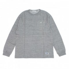 "★30%OFF★ RADIALL ""PACIFIC T-SHIRT L/S"" HeatherGray"