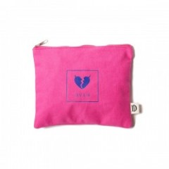 "Deviluse ポーチ ""HEARTACHES POUCH"" (Pink)"