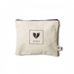 "Deviluse ポーチ ""HEARTACHES POUCH"" (Natural)"