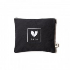 "Deviluse ポーチ ""HEARTACHES POUCH"" (Black)"