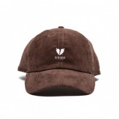"Deviluse キャップ ""HEARTACHES CORDUROY CAP"" (Brown)"