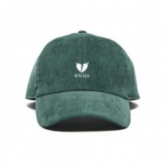 "Deviluse キャップ ""HEARTACHES CORDUROY CAP"" (Green)"