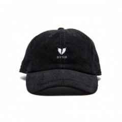 "Deviluse キャップ ""HEARTACHES CORDUROY CAP"" (Black)"